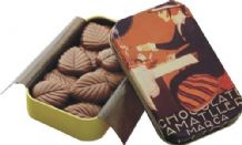 Amatller Chocolate 32% Milk Chocolate Leaves 30g